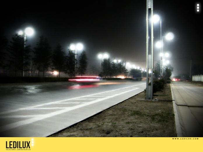 alumbrado publico con led iluminacion sostenible