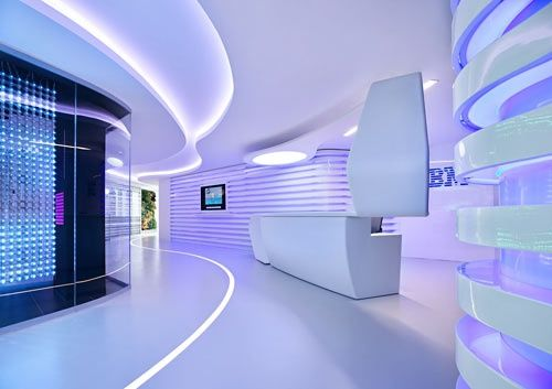 tiras led iluminacion sostenible en oficinas