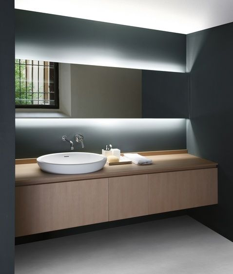 tiras led en los hogares baño