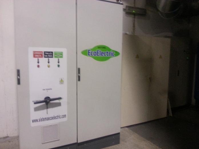 Ecoelectric instalado en Triturats de Fibres Ontinyent